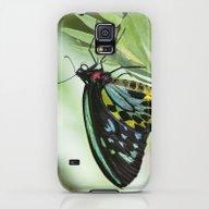Birdwing Butterfly Galaxy S5 Slim Case