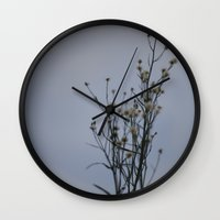 Autumn-Dandelion Wall Clock