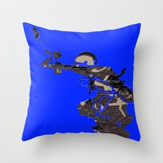 Roger Chaffee Throw Pillow