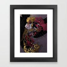 Three Eyed Crow Framed Art Print