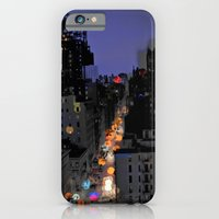 City Lights in NYC iPhone 6 Slim Case