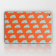 The Happy Love Rain Clou… Laptop & iPad Skin