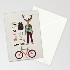 Deer Boy Stationery Cards