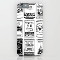 iPhone & iPod Case featuring chinese teabox collection by Amylin Loglisci