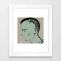 22 Framed Art Print