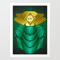 Green Iron Ranger Art Print