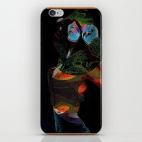 Hooded Woman 2 iPhone & iPod Skin