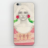 Two Red Flowers iPhone & iPod Skin