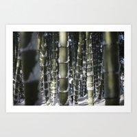 Kyoto Winter 2015 II (ba… Art Print