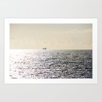 Journey to Horizon 2.0 Art Print