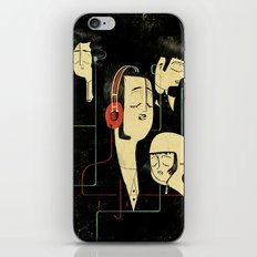 乐 Music Lovers iPhone & iPod Skin