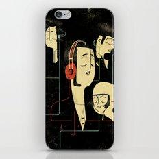 乐 Music Lovers / Vintage  iPhone & iPod Skin