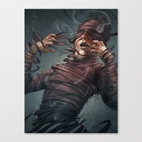 Changes In The Tide Canvas Print