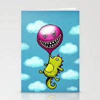 BubbleCroco Stationery Cards