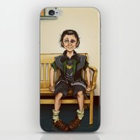 Loki Outside The Princip… iPhone & iPod Skin