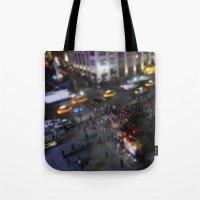 New York City Street Min… Tote Bag
