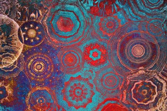 Mysterious Circles Art Print