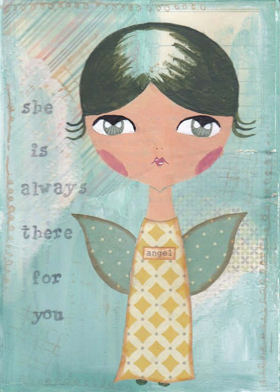 She is always there for you Art Print
