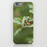 Honeysuckle Berries iPhone 6 Slim Case