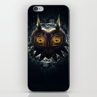 Epic Pure Evil Of Majora… iPhone & iPod Skin