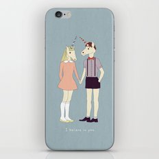 Our love is unique, we are Unicorns (text version) iPhone & iPod Skin