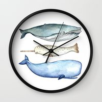 S'whale Wall Clock