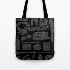 Useful Facts (On Black) Tote Bag