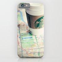 Manhattan and Starbucks iPhone 6 Slim Case