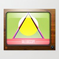 Kaleidoscope TV version A  Canvas Print