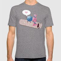 Sweet Talk Mens Fitted Tee Tri-Grey SMALL