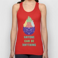 Zootopia - Anyone Can Do Anything Unisex Tank Top