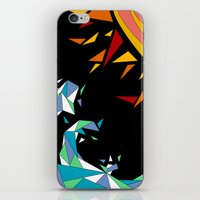 Sun And Wave iPhone & iPod Skin