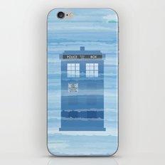 TARDIS Under the Sea - Doctor Who Digital Watercolor iPhone & iPod Skin