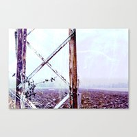 Rusty Pylon Canvas Print