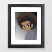 The Boondocks Framed Art Print
