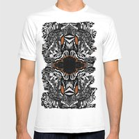 Space Rift Mens Fitted Tee White SMALL