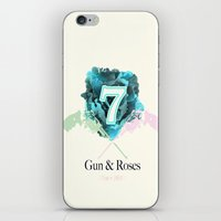 Gun & Roses iPhone & iPod Skin