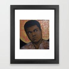 Ali Bumaye Mr.Klevra Framed Art Print