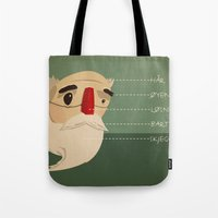 Fake Nose Tote Bag
