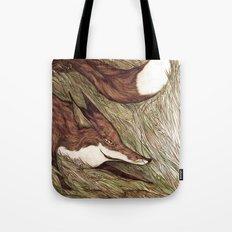 La Ruse du renard (The Sneaky Red Fox) Tote Bag