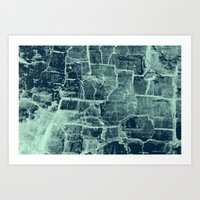 Crackle Art Print