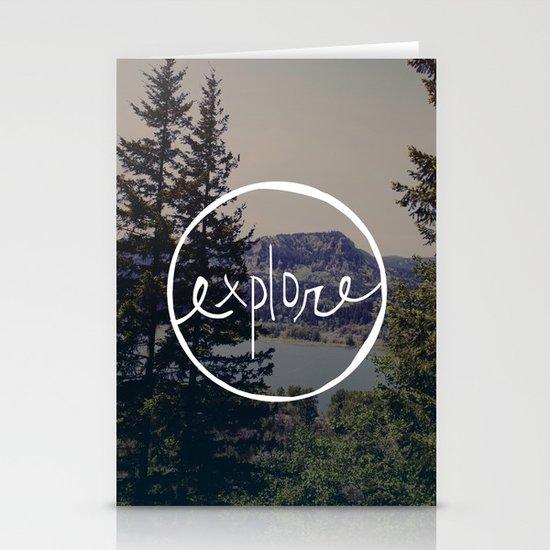 Explore Oregon Stationery Card