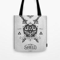 Legend Of Zelda Hylian S… Tote Bag