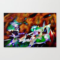 Abstract Inc. Canvas Print