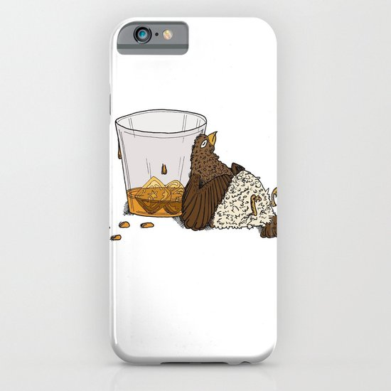 Thirsty Grouse - Colored with White Background iPhone & iPod Case