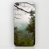 Smoky Mountains Tennessee Tree Color Photograph iPhone & iPod Skin