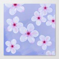 Cherry Blossoms - Painti… Canvas Print
