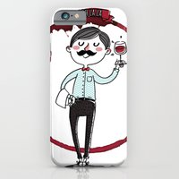 iPhone & iPod Case featuring Ooh la la - the wine is good! by Fla'Fla'