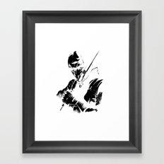 Ninja Framed Art Print