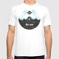 In The Arms Of The Sea Mens Fitted Tee White SMALL
